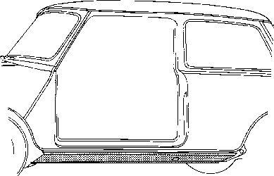 Plancher de carrosserie - VAN WEZEL - 0201.10