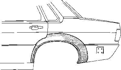 Panneau latéral - VAN WEZEL - 0308147