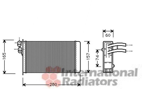 Système de chauffage - VAN WEZEL - 03006141