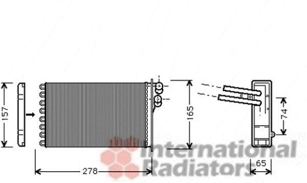 Système de chauffage - VAN WEZEL - 03006156