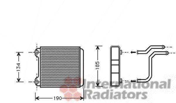 Système de chauffage - VAN WEZEL - 03006183