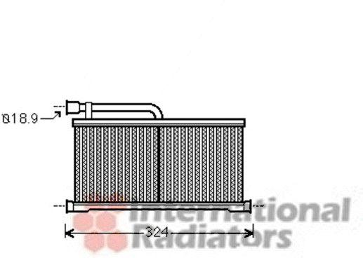 Système de chauffage - VAN WEZEL - 03006296
