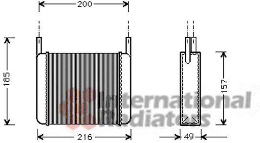 Système de chauffage - VAN WEZEL - 01006033