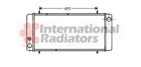 Radiateur, refroidissement du moteur - VAN WEZEL - 02002040