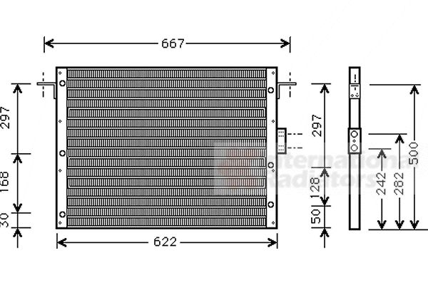 Condenseur, climatisation - VAN WEZEL - 02005075