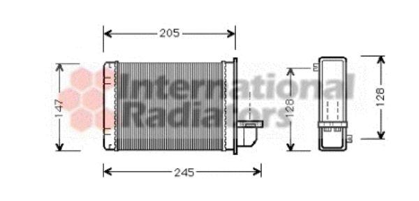 Système de chauffage - VAN WEZEL - 02006093