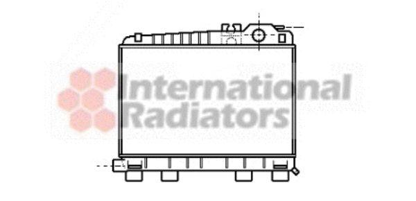 Radiateur, refroidissement du moteur - VAN WEZEL - 06002043