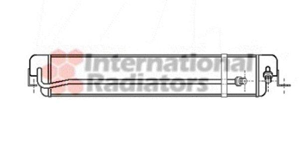 Radiateur d'huile - VAN WEZEL - 06003168
