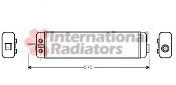 Radiateur d'huile - VAN WEZEL - 06003178