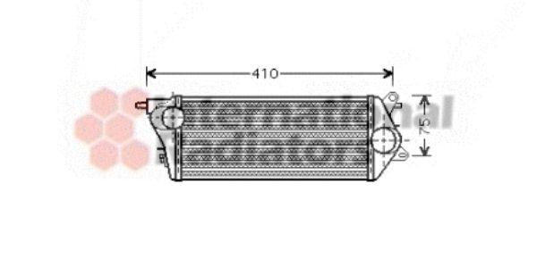 Intercooler, échangeur - VAN WEZEL - 06004265