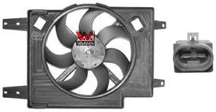 Ventilateur, refroidissement du moteur - VAN WEZEL - 0156747