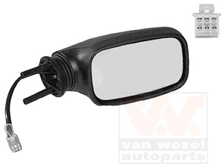 Rétroviseur extérieur - VAN WEZEL - 0210808