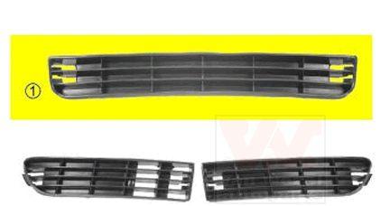 Grille de ventilation, pare-chocs - VAN WEZEL - 0314501