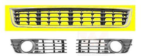 Grille de ventilation, pare-chocs - VAN WEZEL - 0325590