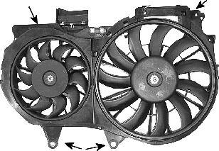 Ventilateur, refroidissement du moteur - VAN WEZEL - 0325750