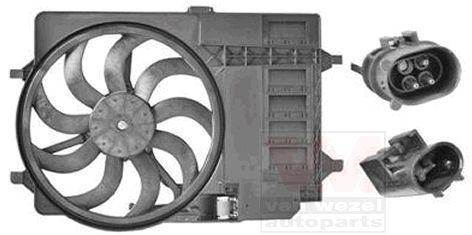 Ventilateur, refroidissement du moteur - VAN WEZEL - 0502746