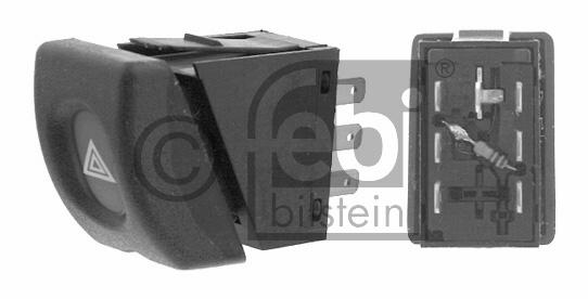 Interrupteur de signal de détresse - FEBI BILSTEIN - 01566