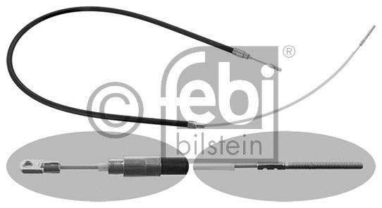Tirette à câble, frein de stationnement - FEBI BILSTEIN - 01759