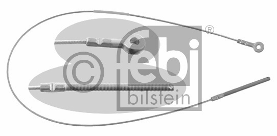 Tirette à câble, frein de stationnement - FEBI BILSTEIN - 01969
