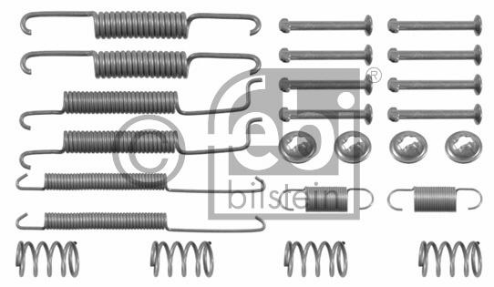 Kit d'accessoires, mâchoire de frein - FEBI BILSTEIN - 02060