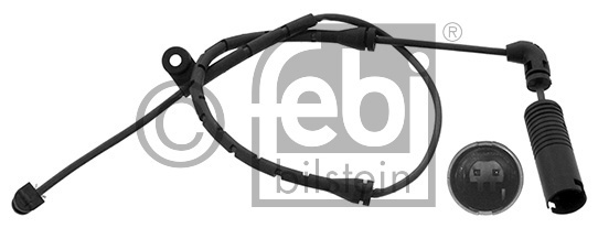 Contact d'avertissement, usure des garnitures de frein - FEBI BILSTEIN - 11936