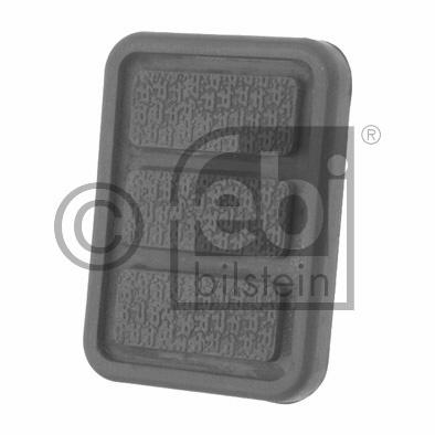 Revêtement de pédale, pédale de frein - FEBI BILSTEIN - 11947