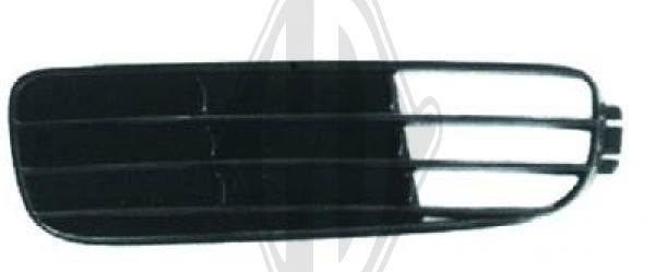 Grille de ventilation, pare-chocs - DIEDERICHS Germany - 1015049