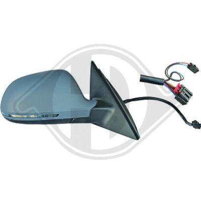 Revêtement, rétroviseur extérieur - DIEDERICHS Germany - 1018427