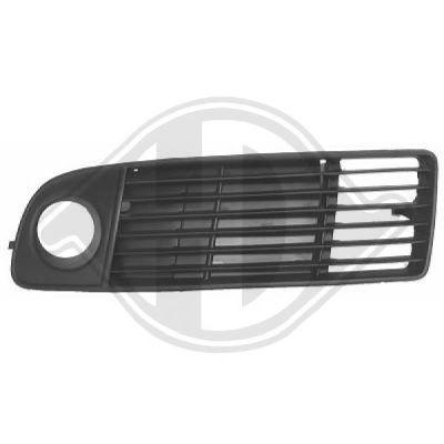 Grille de ventilation, pare-chocs - DIEDERICHS Germany - 1024047