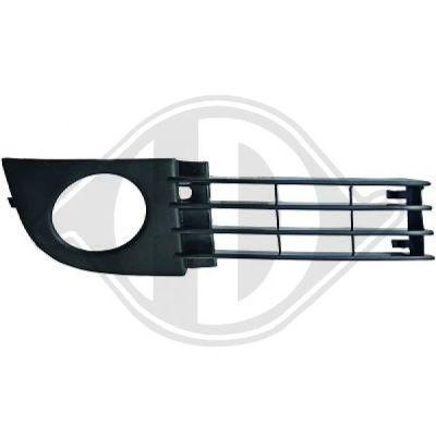 Grille de ventilation, pare-chocs - DIEDERICHS Germany - 1025046
