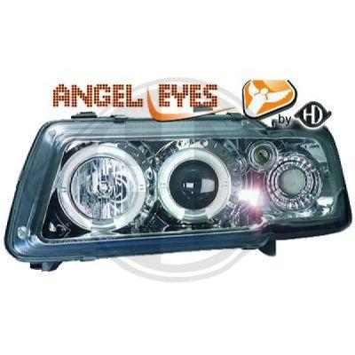 Bloc-optique, projecteurs principaux - DIEDERICHS Germany - 1030780