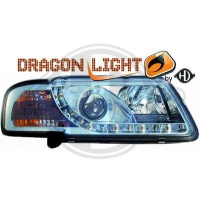 Bloc-optique, projecteurs principaux - DIEDERICHS Germany - 1030785