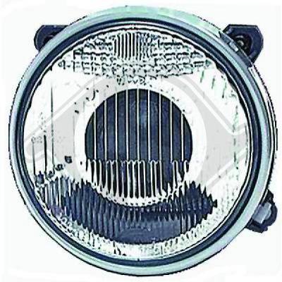 Bloc-optique, projecteur principal - DIEDERICHS Germany - 1211182