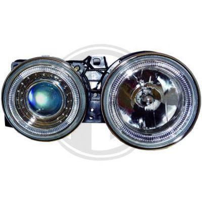 Bloc-optique, projecteurs principaux - DIEDERICHS Germany - 1211380