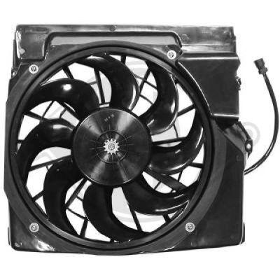 Ventilateur, condenseur de climatisation - DIEDERICHS Germany - 1213201