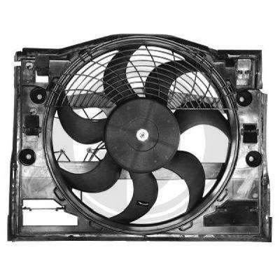 Ventilateur, refroidissement du moteur - DIEDERICHS Germany - 1214101