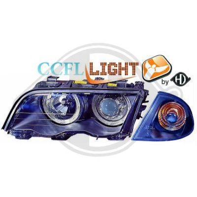 Bloc-optique, projecteurs principaux - DIEDERICHS Germany - 1214480